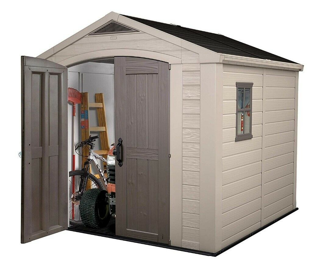 keter 8x8 apex shed assembly instructions