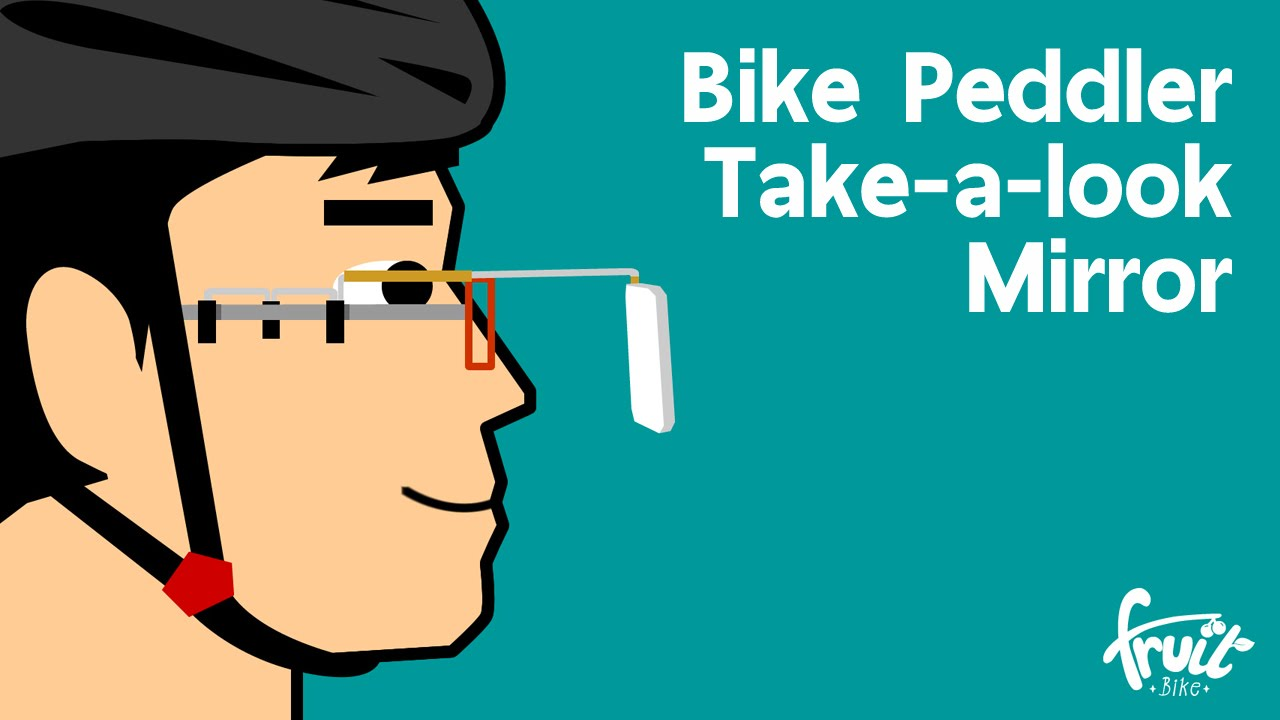 take a look cyclist mirror instructions