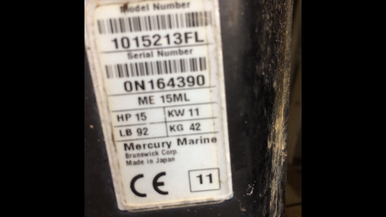 mercury outboard manual by serial number