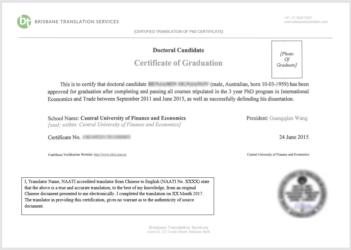 Who can certify a document in queensland