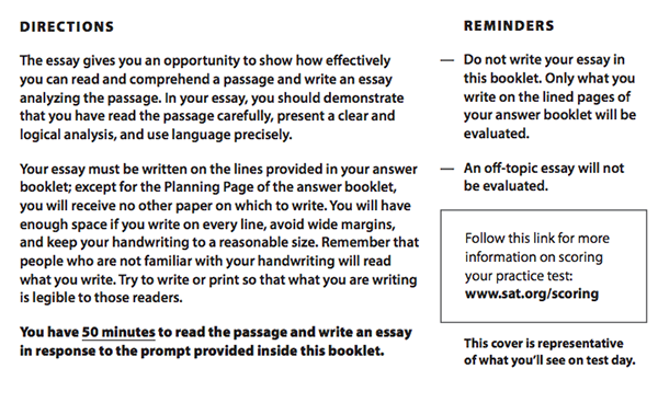 Example of giving instruction