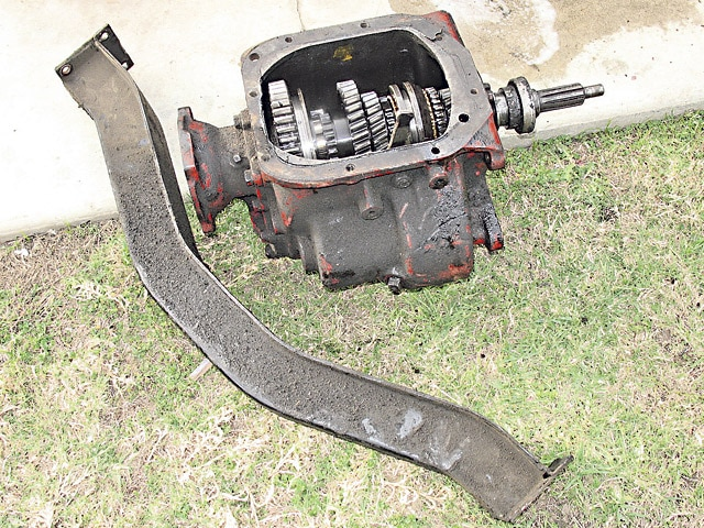 Chevy truck manual transmission swap