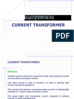 Current transformer and potential transformer theory pdf