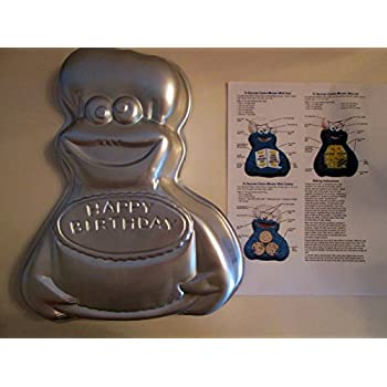 wilton cookie monster cake pan with instructions