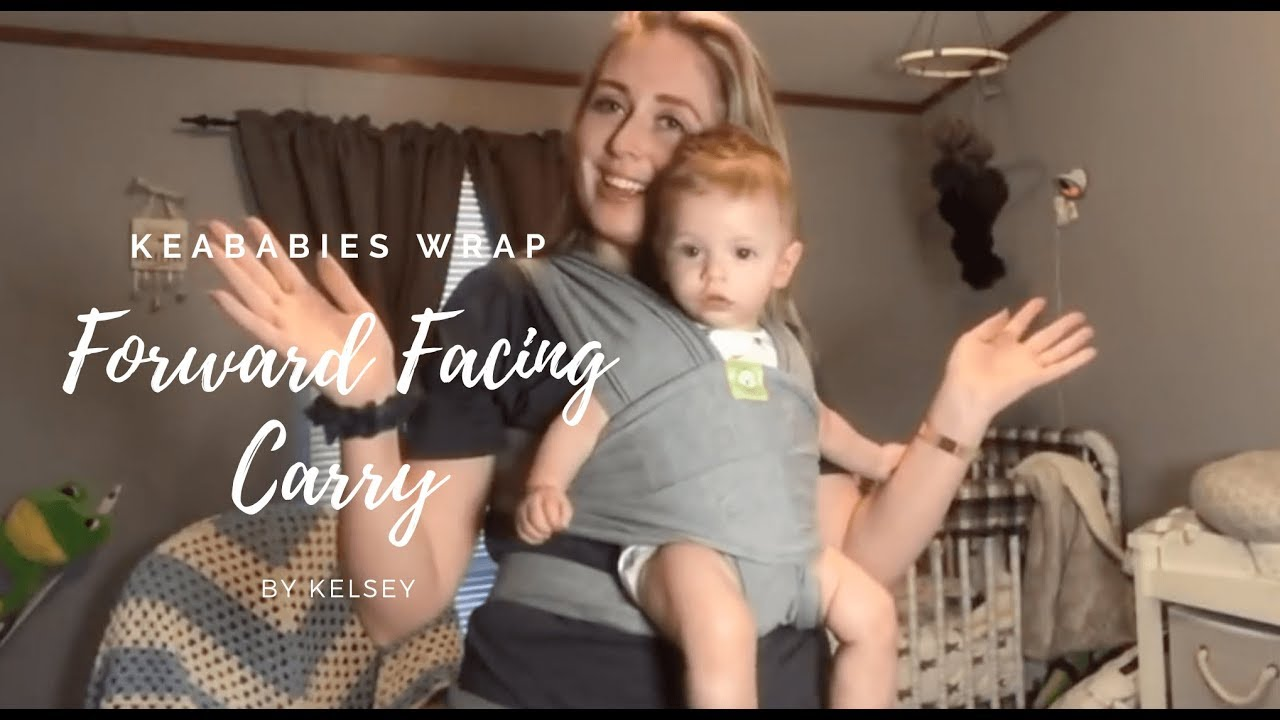 moby wrap instructions baby facing out