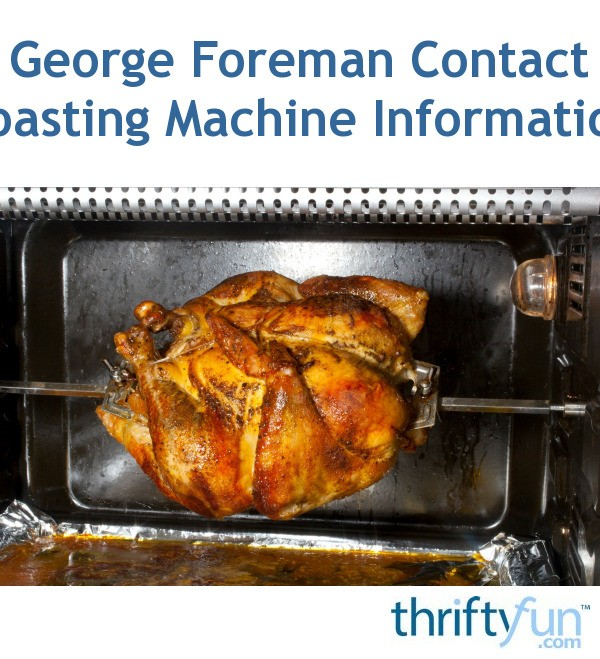 george foreman rotisserie instructions