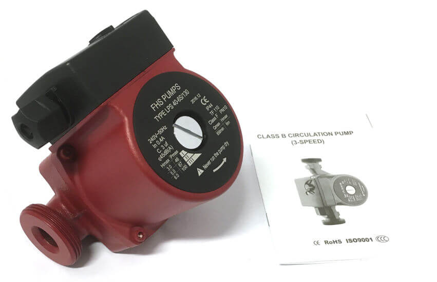 grundfos central heating pump fitting instructions