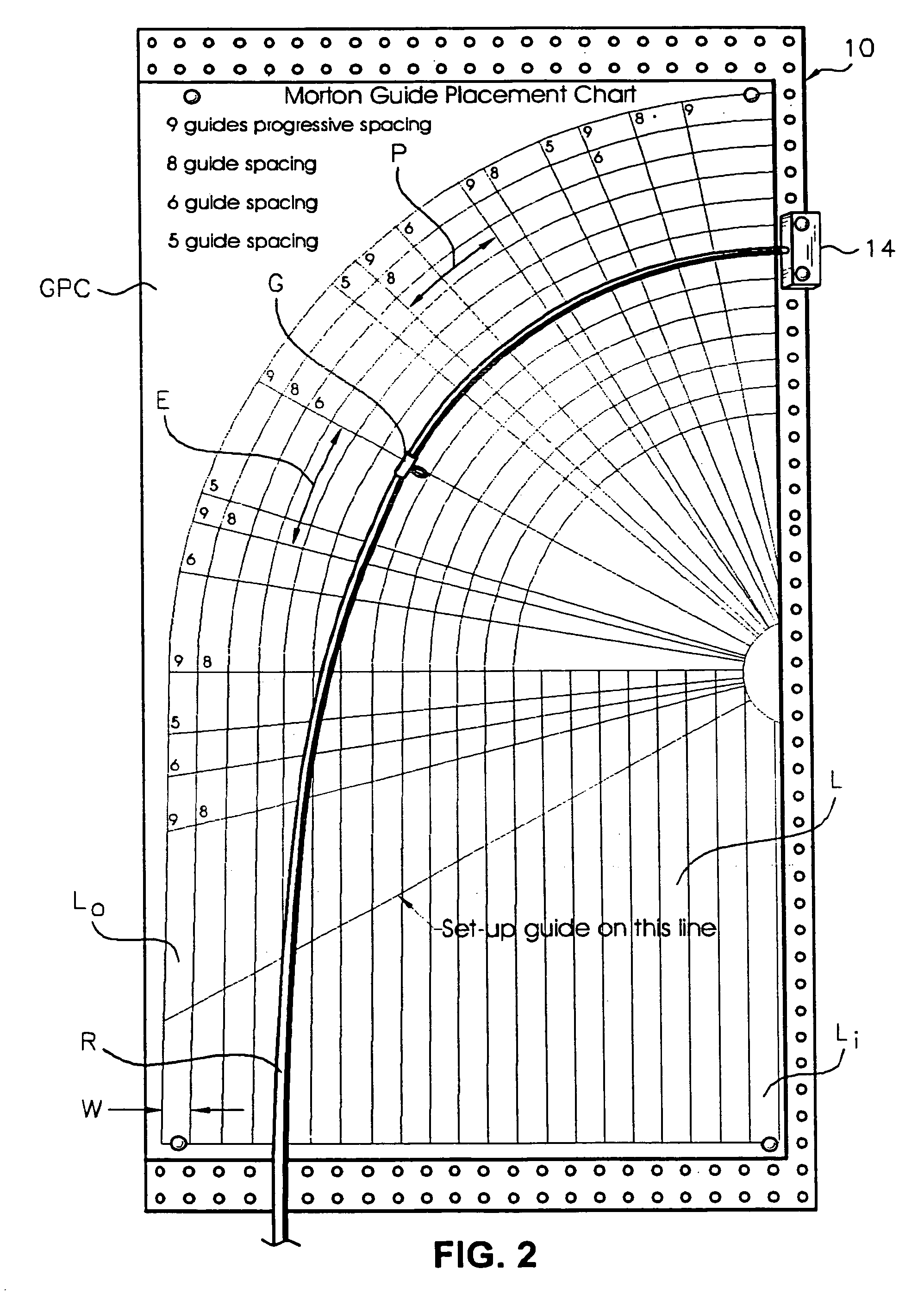 Spiral wrap rod guide spacing